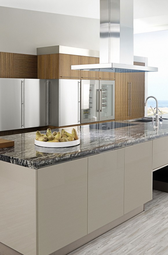 Cocinas melamina mueble de cocina estilo minimalista for Cocinas integrales de melamina