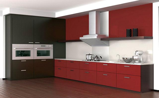 Cocinas material estratificados inalsan for Muebles de cocina kitchen