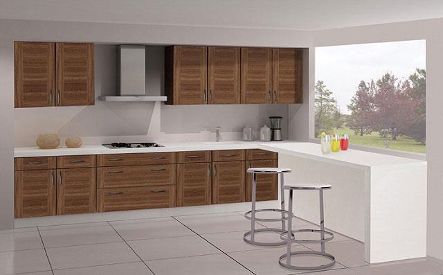 Muebles de cocina laminados inalsan - Encimeras laminadas de cocina ...