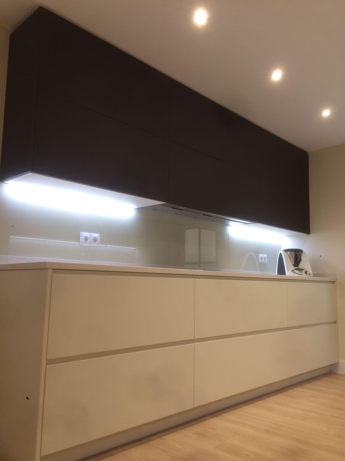 Proyecto cocina madrid capital inalsan for Muebles de cocina fenix