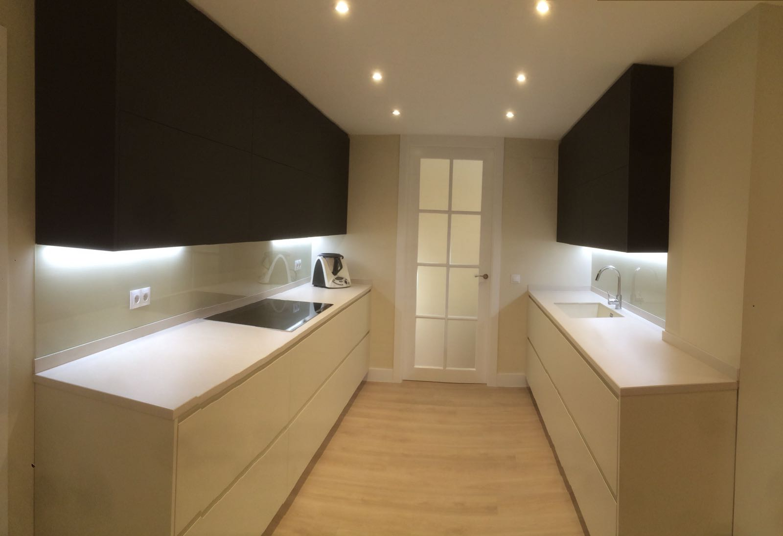 Proyecto cocina madrid capital inalsan for Muebles en madrid capital